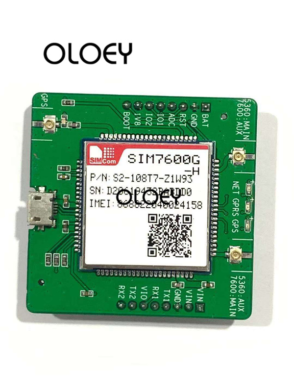 SIM7600G-H LTE Extended Boards, SIM7600E-H LTE KIT, USB TTL UART Interface