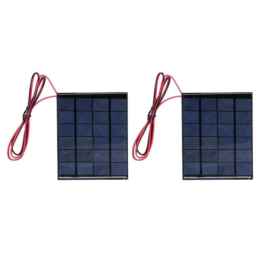 módulo de energia solar com cabo de
