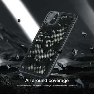 Image 3 - For Apple iPhone 11 Pro 2019 Case,NILLKIN Military camouflage Protector Case Shell Anti Knock Tough Back Cover For iPhone 11