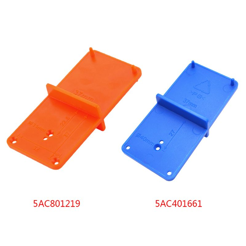 35mm 40mm Hinge Hole Drilling Guide Locator Holes Opener Template Model Door Cabinets DIY Woodworking Tool  PPPlastic Hotselling