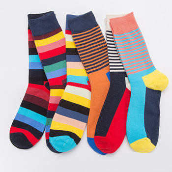 stripe sock socks in Europe and the United States big yards men street skateboarding cotton socks ins socks lovers недорого