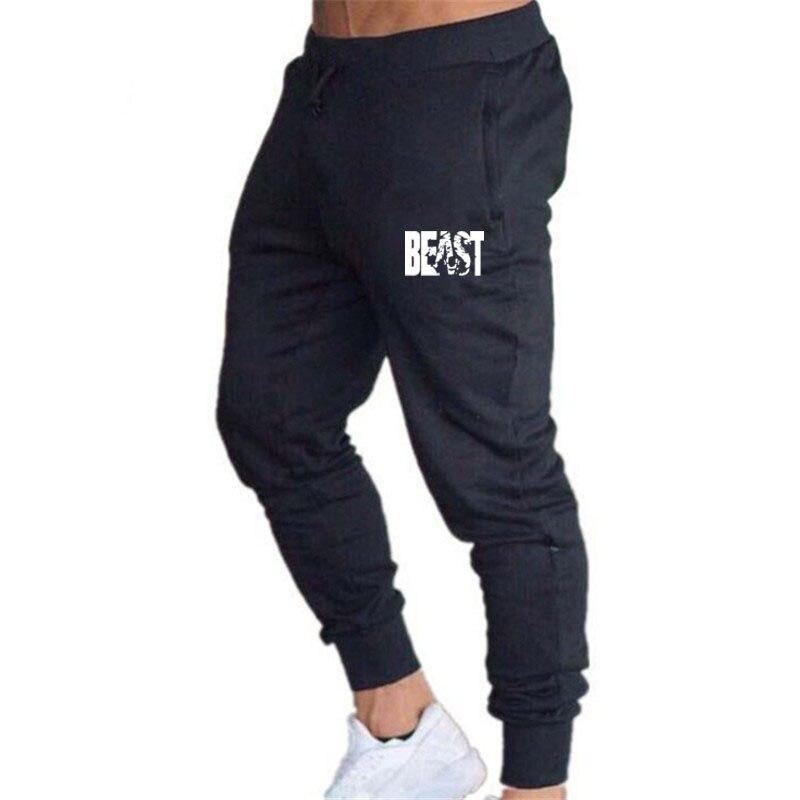 Men Pants Slim Fit Sports Running Sweatpants Men's Pants Sweat Sport Jogging Mens Pants Fitness Muscle Pants Man Joggers
