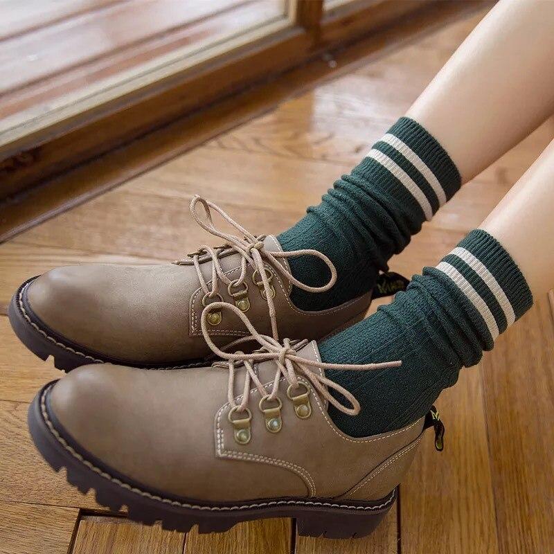 20 Pairs/set Autumn Winter New Japanese Style Women's Socks Wholesale Medias De Mujer Autumn Female Socks Cute