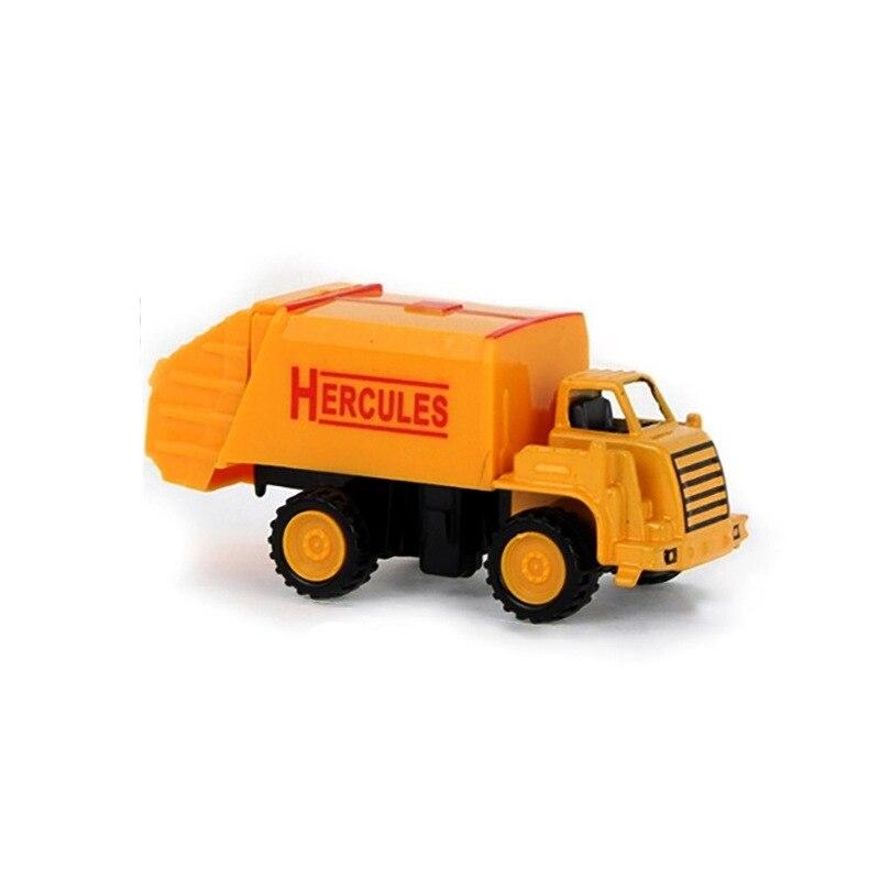 8 видов стилей мини-инженерный автомобиль трактор игрушка самосвал Модель классическая игрушка сплав автомобиль детские игрушки инженерный автомобиль