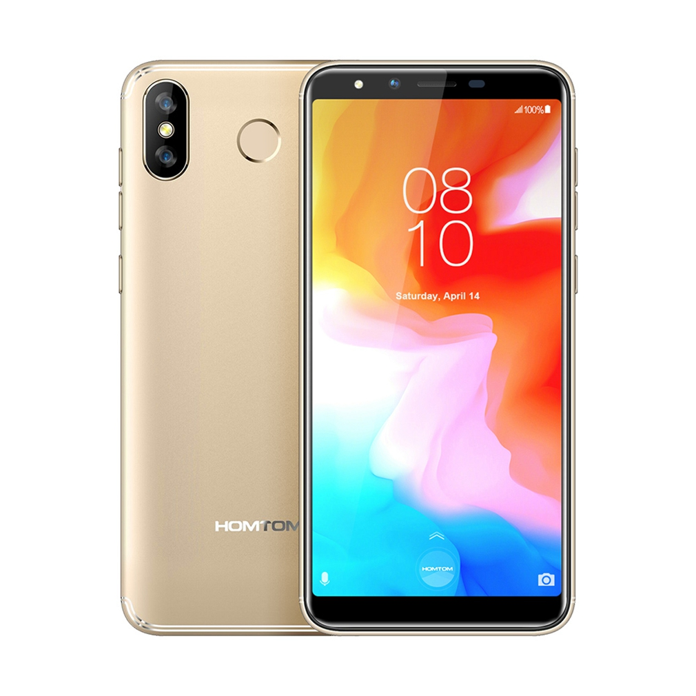 HOMTOM H5 Mobile Phone 3GB + 32GB MTK6739 Quad Core Android 8.1 13.0MP 3300MAH Fingerprint Face ID 4G LTE 5.7 Inch Cell Phone(China)