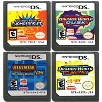 DS Game Cartridge Console Card Digimon World Series English Language for Nintendo DS 3DS 2DS