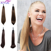 Wrap Synthetic Ponytail Hair Extension Ponytail Hair Claw Ponytail Wig Pony Tail Flase Hairpiece Hair Tail Hair(China)