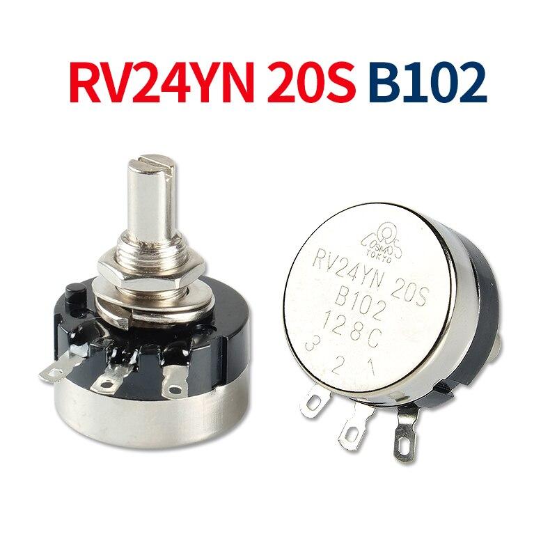 Inverter Arc Electric Welding Machine Potentiometer RV24YN-B102 2W 1K Welding Machine Parts 3PIN Mig Welding Accessories Repair
