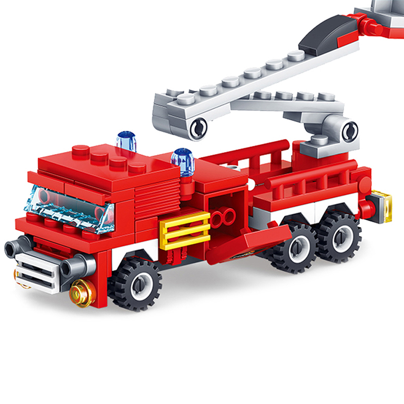 KAZI-Toys-348PCS-City-Construction-Series-Building-Blocks-DIY-Fire-Station-Bricks-Christmas-Gift-For-Kid (3)