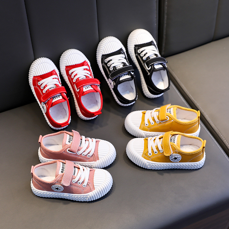 Kid's Canvas Shoes Boys Girls Casual Sneaker Trainers Spring/Autumn Girl Walking Shoes For Children Fashion Sneakers Zapatillas