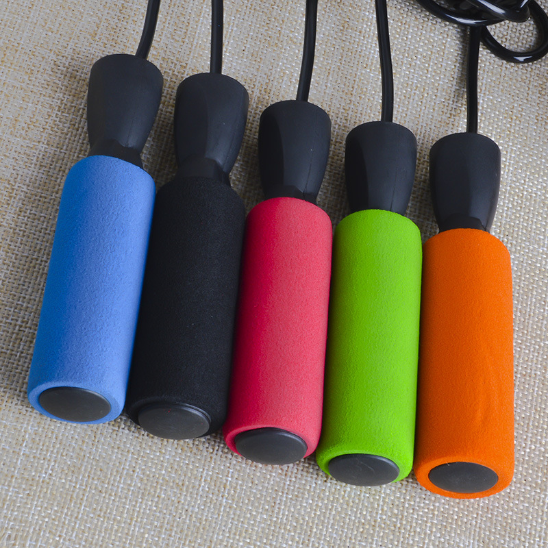 Sponge Jump Rope Profession Game Bearing Fitness Sports Only School Adult Sports Will Children Men And Women Jump Rope