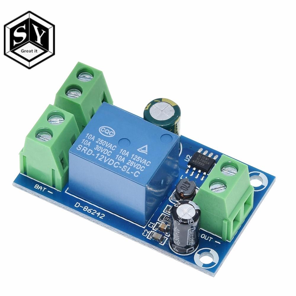 YX-X804 Мощность защита от отключения модуля автоматическое переключение модуль UPS аварийного отключения Батарея Питание 12В до 48В Управление