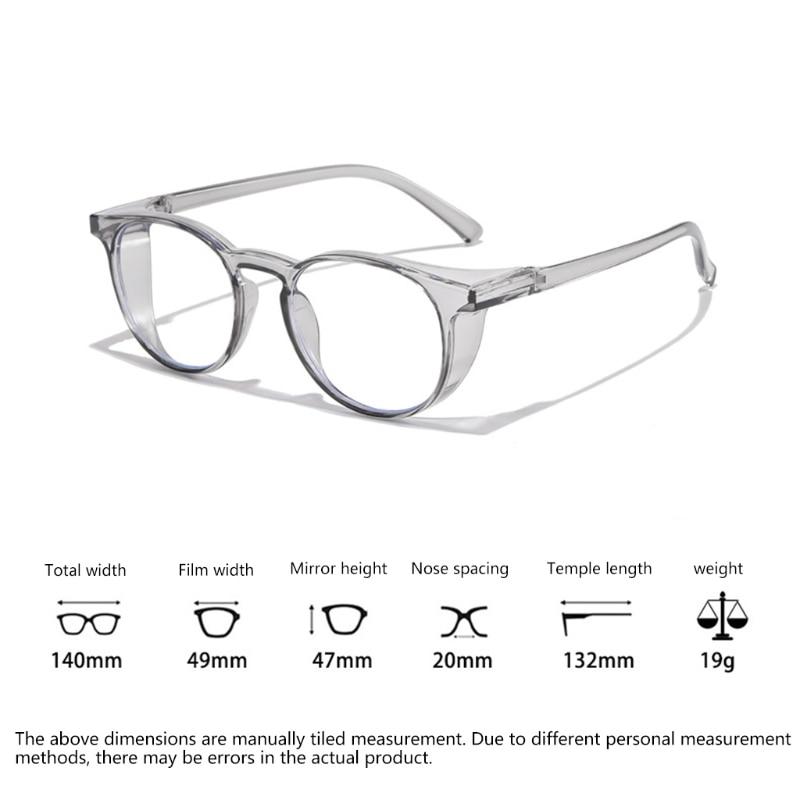 Safety Glasses Anti Fog Goggles Protective Glasses Side Shields Anti Blue Light protection Eye Glasses for Men Women Reading Gla 20