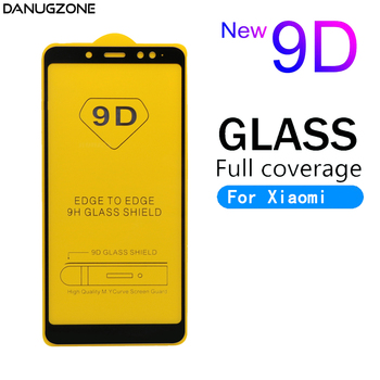 10PCS/Lot 9D Tempered Glass Full Screen Protector For Xiaomi Redmi Note 5A 5 PRO 4 4X Helio X20 4A Tempered Glass Film Cover