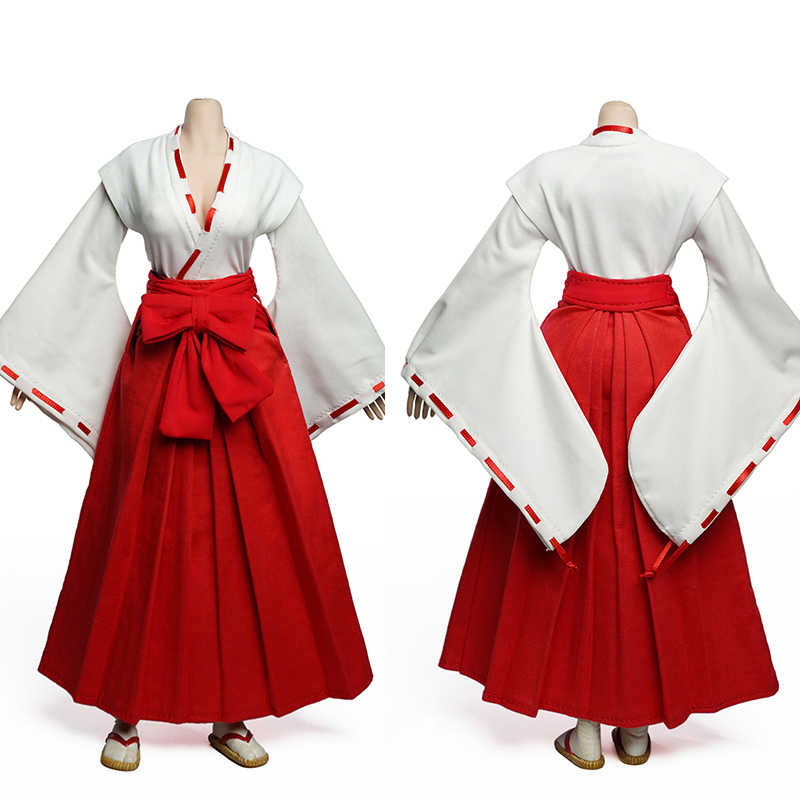 "SUPER DUCK 1//6 C024 Female Witch Clothes Hakama Accessories F 12/"" Figure Presale"