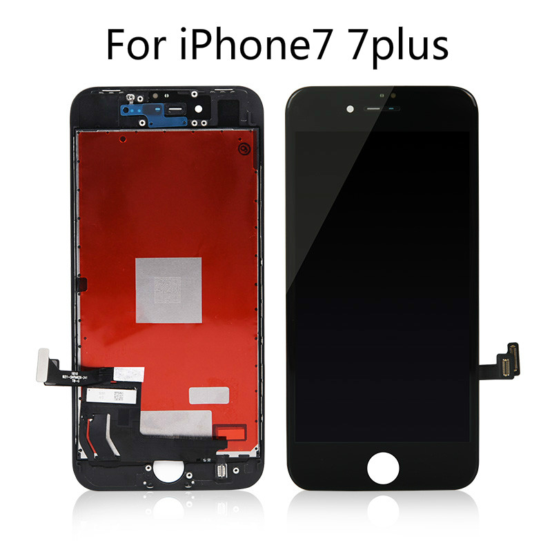 AAAA Grade For iPhone 7 7Plus 8 8Plus LCD With 3D Force Touch Screen Digitizer Assembly For iPhone 6S7Plus Display No Dead Pixel title=