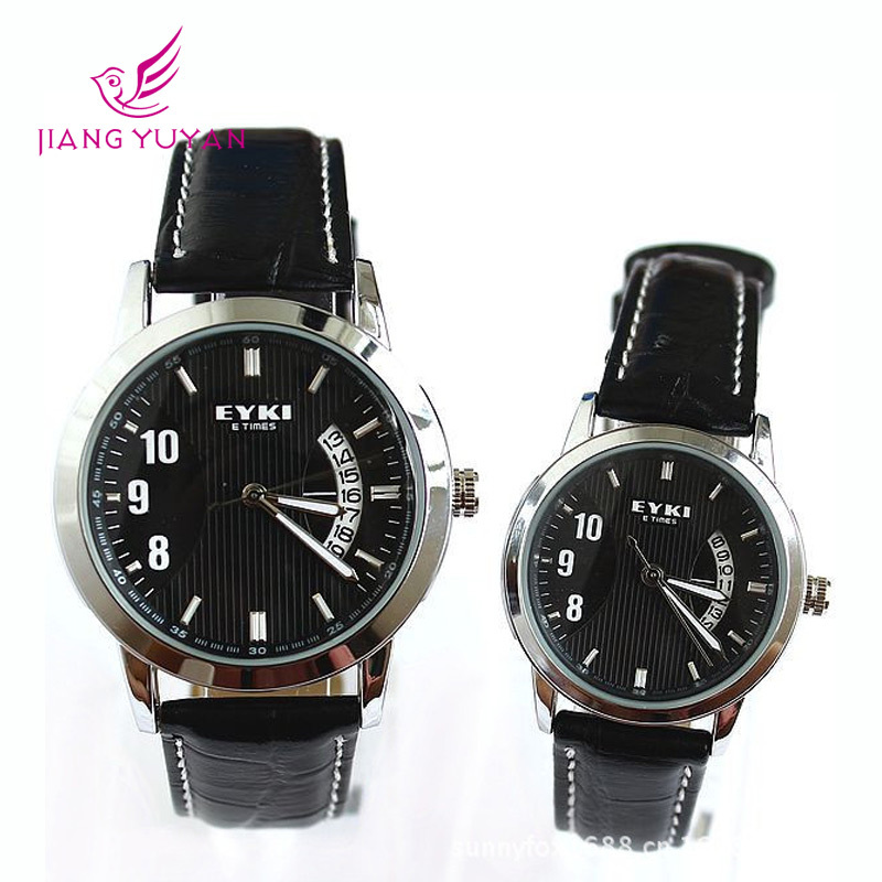 New Menand Women Watches Leather Strap Fashion Casual High Quality Men's And Women's Quartz Watch Couple Watches Erkek Kol Saati