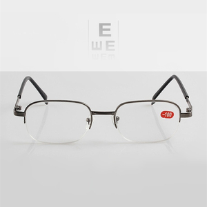 Image 2 -  1.0 To  11  12  13  14  15  16 17  18  19  20 High Diopter Myopia Glasses Men Women Prescription Spectacles Nearsighted F155