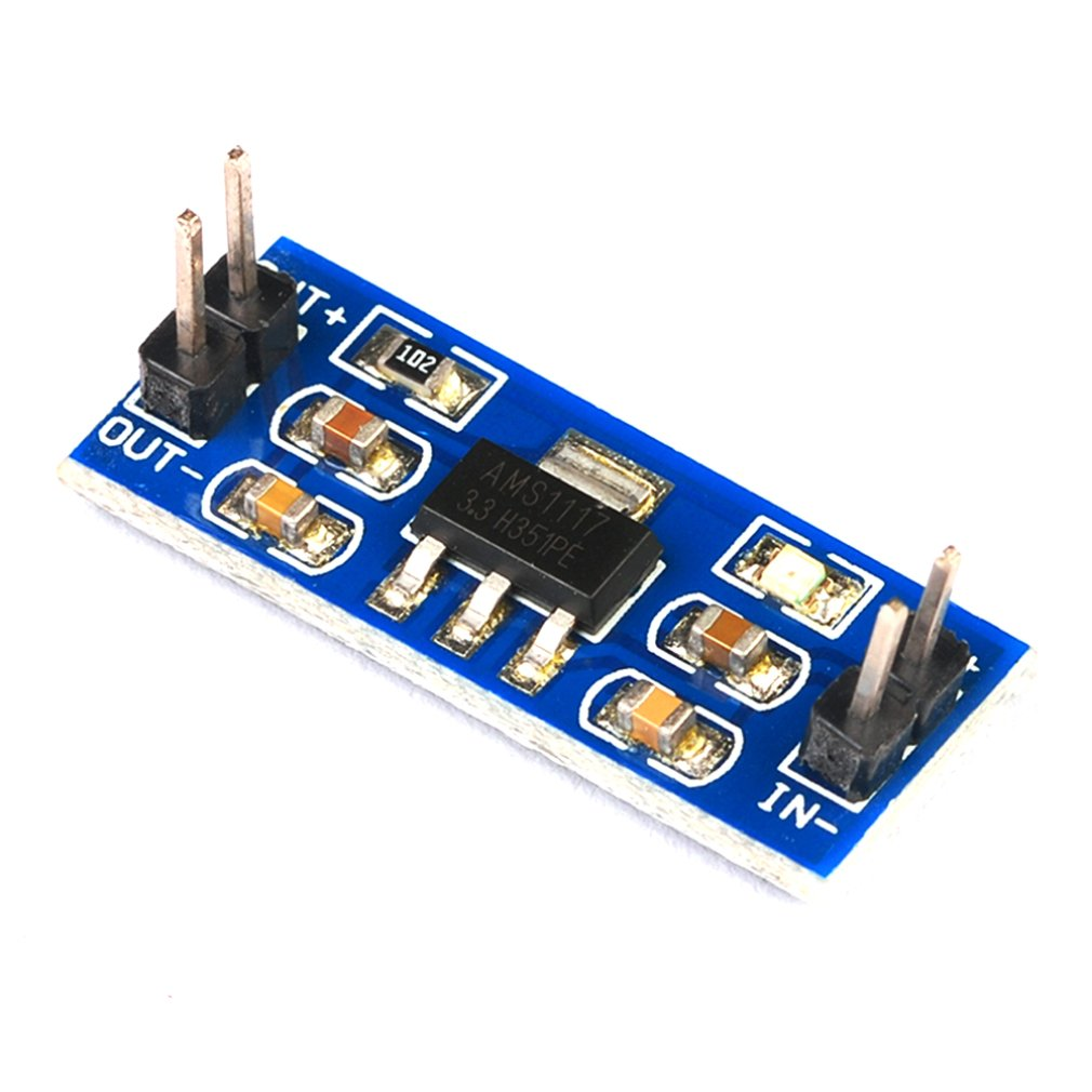 Dc-Dc Step-Down Power Module 3.3V Power Module Ams1117-3.3V Power Module Ultra-Small Step-Down Voltage Module