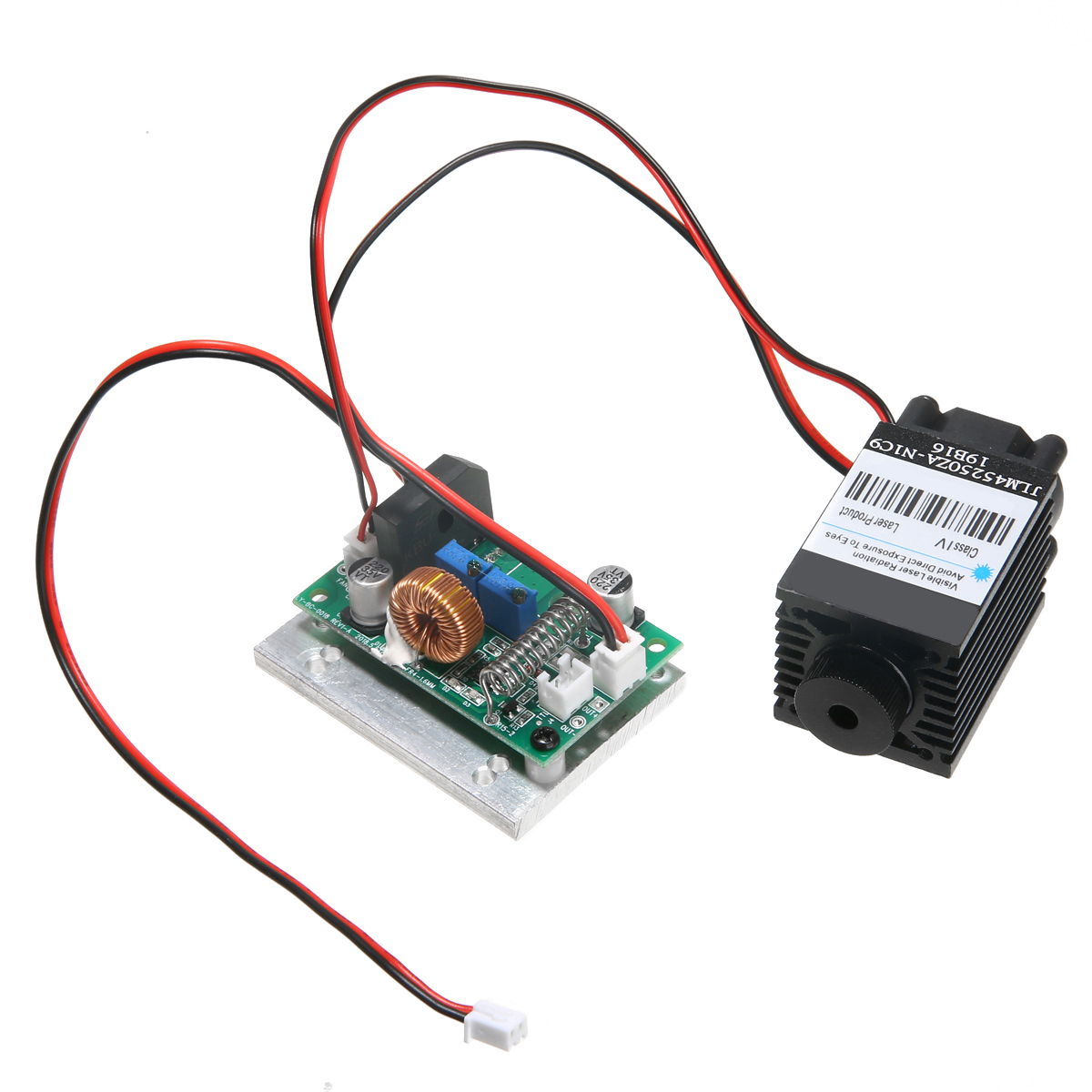 New Focusable 2.5W 2500mW 450nm 445nm Blue Laser Module TTL 12V DIY Engraving Durable Woodworking Machinery Parts