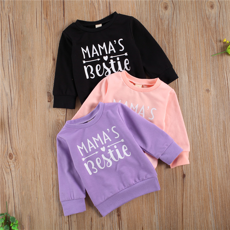 Winter Spring Cotton Children Clothing Boys Sweatshirt Baby Boy Clothes Girls Sweatshirt Costumes Kids Pullover Outfit Tops 0-3Y 1
