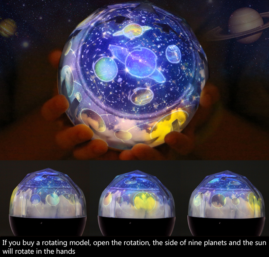 Starry Sky Planetarium Light Made Of ABS+PC Material for Decorating Light 14