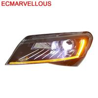 Auto Exterior Automovil Daytime Running Automobiles Led Drl Lamp Parts Headlights Car Lights Assembly 16 17 18 FOR Skoda Superb