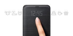 Image 4 - Original Samsung LED Ansicht Abdeckung Smart Abdeckung Telefon Fall für Samsung Galaxy S9 G9600 S9 + S9Plus G9650 Schlaf Funktion karte Tasche