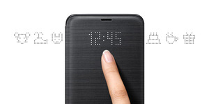 Image 4 - Original Samsung LED View Cover Smart Cover Phone Case for Samsung Galaxy S9 G9600 S9+ S9Plus G9650 Sleep Function Card Pocket