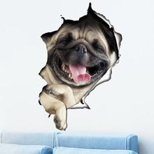 車の性格車のステッカー 3D ステレオシミュレーションサソリ子猫ステッカークリエイティブかわいい子犬スクラッチステッカーガラスステッカー