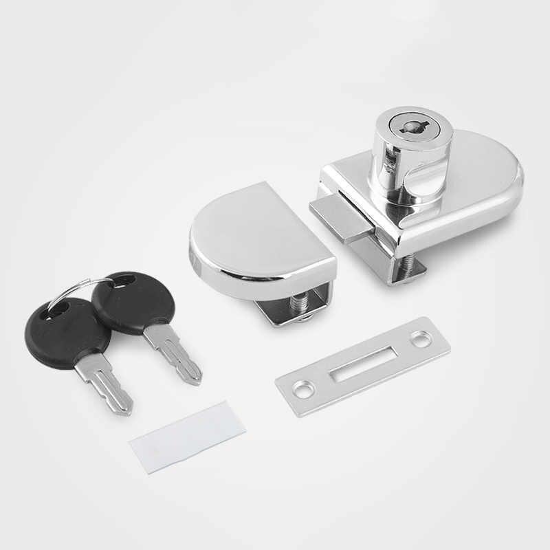 Vitrine loquet verre affichage tiroirs serrure Double porte clés balançoire armoire outil