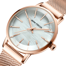 MINI FOCUS Brand Luxury Fashion Women Watches Waterproof Cas