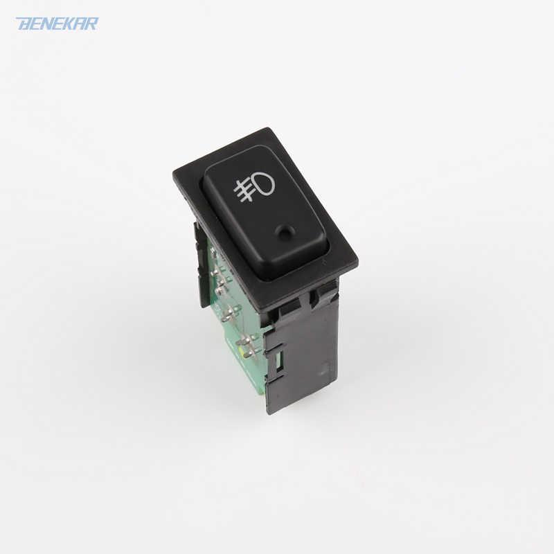 Kongqiabona Switch Button Rear Fog Lamp Switch /& Plug Pigtail para Suzuki Grand Vitara 1998-2005 Jimny FJ