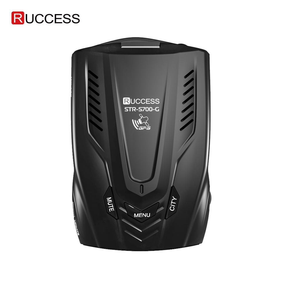 RUCCESS 2 in 1 Radar Detector for Car for Russia with GPS Anti Radar Car Detector Antiradar Anti-radar Speed X K La CT(China)