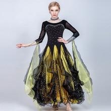 Ballroom-Dress Dance-Costumes Competition-Dresses Waltz Girls Standard Women Swing