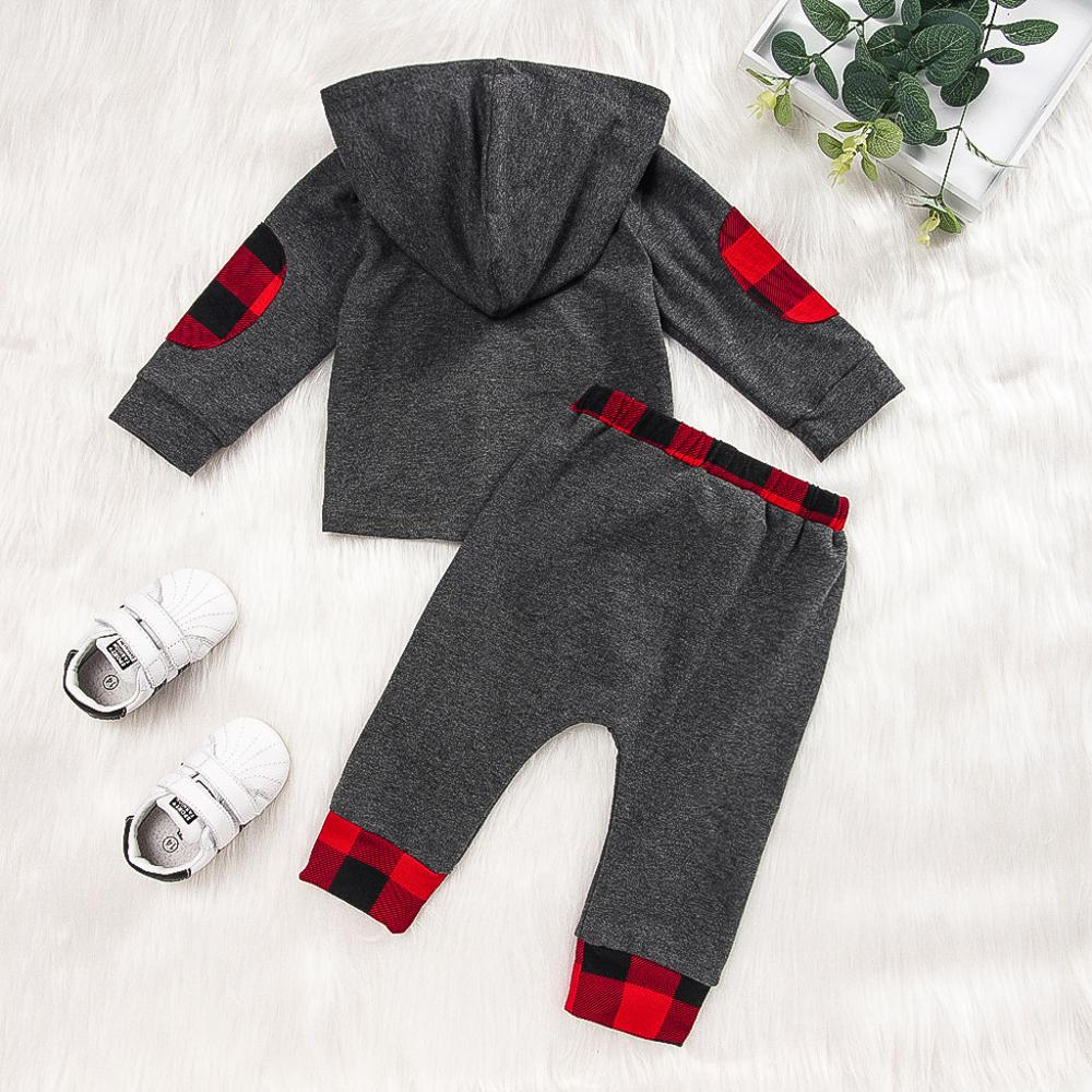 2019 Otoño Invierno moda recién nacido bebé niña niño ropa