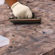 Folhas de papel de lixa secas molhadas 120-3000 do grão de 42 pces para o polimento de madeira para terminar antes de pintar.