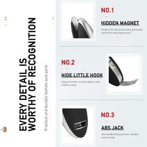 Image 3 - Auto Kleiderbügel für Anzüge Mantel Kleidung Halter Universal Auto Sitz Haken Schrumpf Auto Organizer Halterungen Auto Innen Zubehör