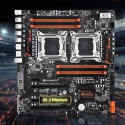 Huananzhi X79 8D płyta główna Intel Dual CPU LGA 2011 E5 2689 2670 V2 DDR3 1333/1600/1866MHz 256GB M.2 NVME SATA3 USB3.0 E ATX w Płyty główne od Komputer i biuro na