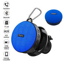 Outdoor portable bicycle bluetooth speaker with suction cup waterproof shower speaker hands-free call IPX7 nfc bluetooth speaker with mic hi fi sound hands free call