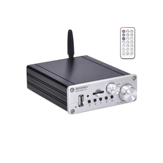 مضخم صوت ستيريو HIFI TPA3116 50 واط + 50 واط + 100 واط 2.1 قناة مضخم صوت Amplfiier بلوتوث 5.0 باس أمبير لوحة المسرح المنزلي مكبر للصوت