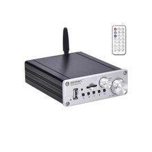 HIFI TPA3116 50W + 50W + 100W Stereo A 2.1 Canali Audio Subwoofer Amplfiier Bluetooth 5.0 Amplificatore per Basso bordo di Home Theater amplificador