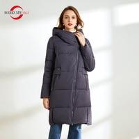 MODERN NEW SAGA 2020 Women Winter Coat Cotton Padded Coat Winter Long Jacket Hooded Parka Women Winter Coats Plus Size Russian