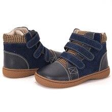 PEKNY BOSA dziewczyny wiosna jesień Martin buty skórzane dziecięce buty ortopedyczne małe dzieci botki dla chłopców rozmiar 25 35