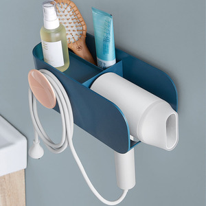 Image 3 - Original Xiaomi Mijia MIJOY Hair Dryer Rack Wall Mount Hair Dryer Holder Hair Dryer Rack Comb Shaver Hold Shelf