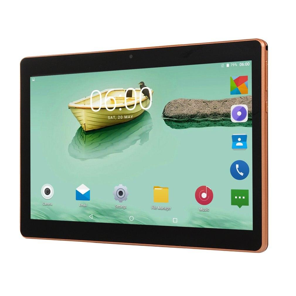 10.1 Inch Android 6.0 Quad-core Plastic-typed Tablet PC 1+16GB/2+32GB/4+64GB/6+128GB Dual SIM Card Slots 3G Phone Call