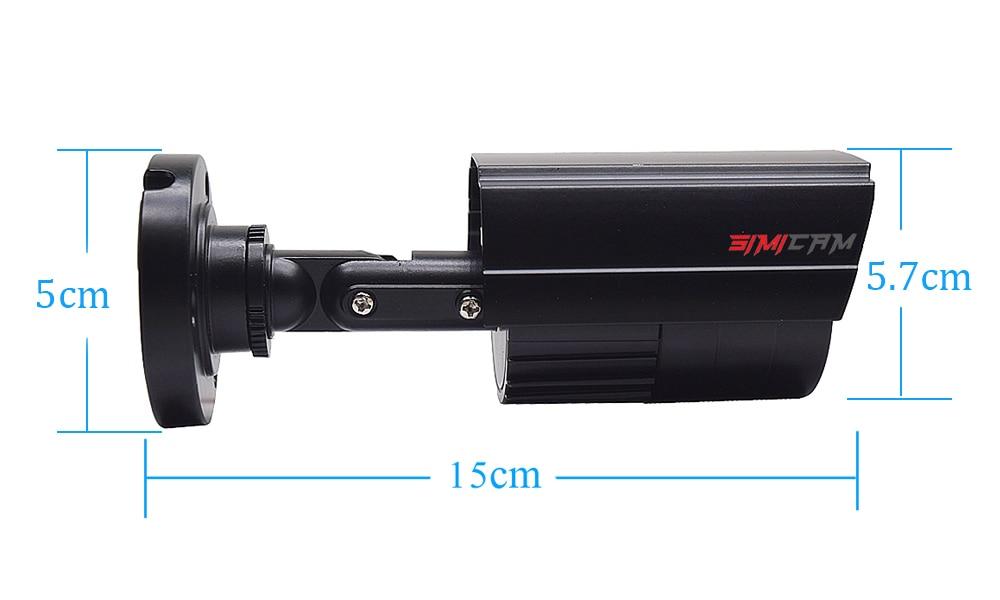 Sistema de vigilância de vídeo cctv câmera