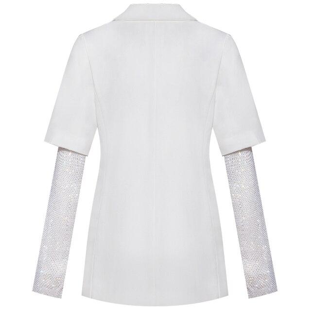 Купить модное женское белое пальто yigelila элегантное шикарное верхняя картинки цена