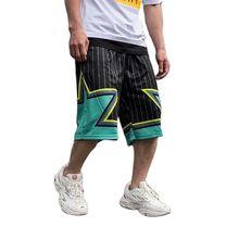 Размера плюс, модные шорты хип-хоп мужские повседневные спортивные шорты свободные шаровары пляжные шорты Уличная Beachshorts Мужская одежда