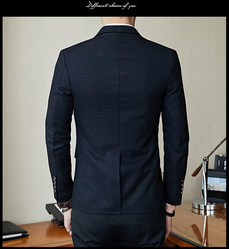 H411d36cb9dff4d9a9c453e2b1acc005fd - Striped Blazer Mens Slim Fit Blazer Slim Masculino Business Casual Mens Stylish Blazer Spring Autumn Dot  Striped Blazers Mens